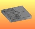 Access platform weldment